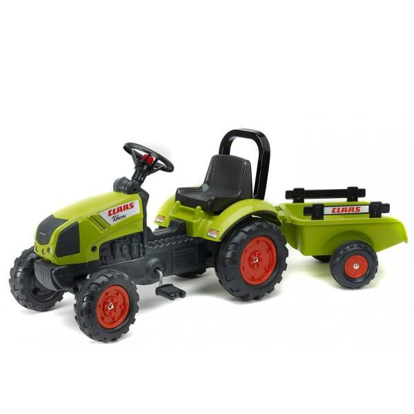 Фалк Трактор CLAAS с ремарке
