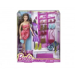 Кукла Барби с обувки