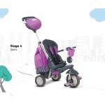 Smart Trike Детска триколка 5 в 1 Splash лилава