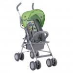 Детска количка Trek Green&Grey Car