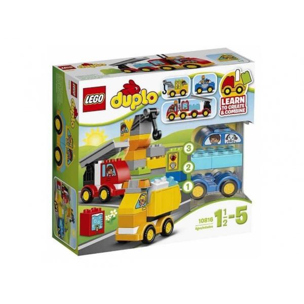Лего Дупло Моите първи коли и камиони