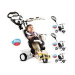 Smart Trike Детска триколка 4 в 1 Dream бяло и черно