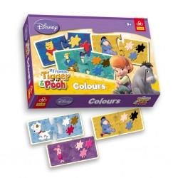 Игра Свържи Мечо Пух различни цветове