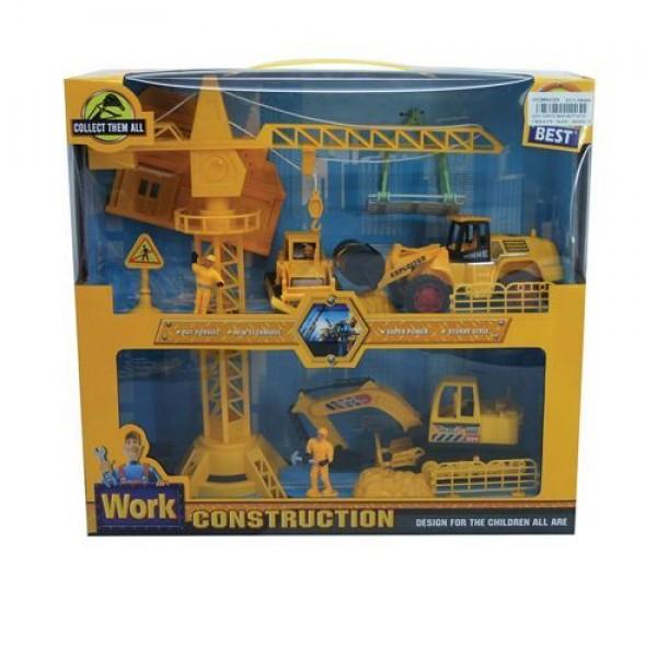 Ocie Комплект кран със строителни машини