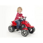 Falk Мотор с четири колела червен