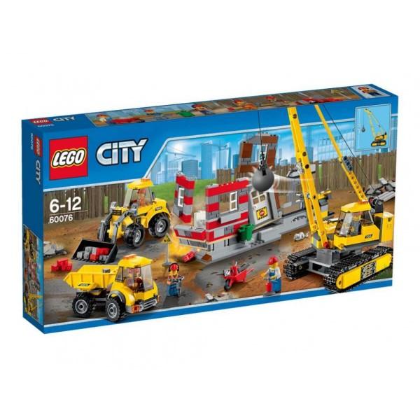 Лего Сити Зона за разрушаване