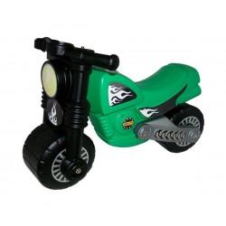 Мотоциклет Зелен