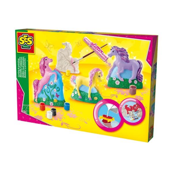 Сес Комплект за отливки и оцветяване коне