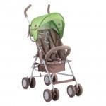 Детска количка Trek Dark Beige&Green Lambs