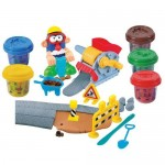 PlayGo Dough Пластелин Пътно строителство