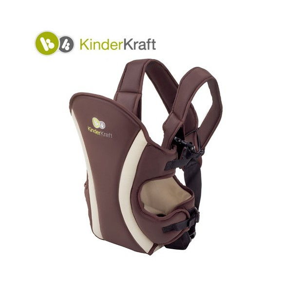 KinderKraft кенгуру за бебе кафяво
