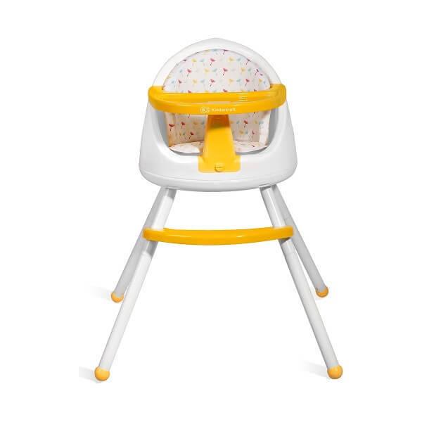 Столче за хранене Tutti 3в1 жълто