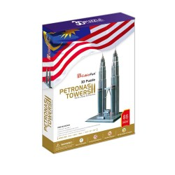 3D Пъзел Petronas Towers