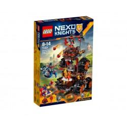 Лего Нексо Гибелната обсадна машина на генерал Магм