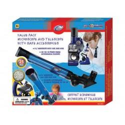 Комплект микроскоп с телескоп
