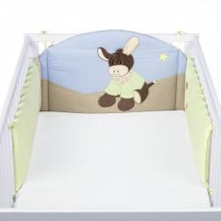 Sterntaler Обиколник за детско креватче Магаренце