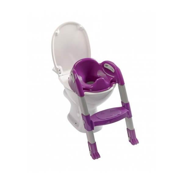 Kiddyloo адаптер за тоалетна лилав