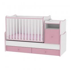 Легло Trend Plus бяло и розово