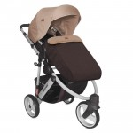 Бебешка количка Monza 3 Brown&Beige