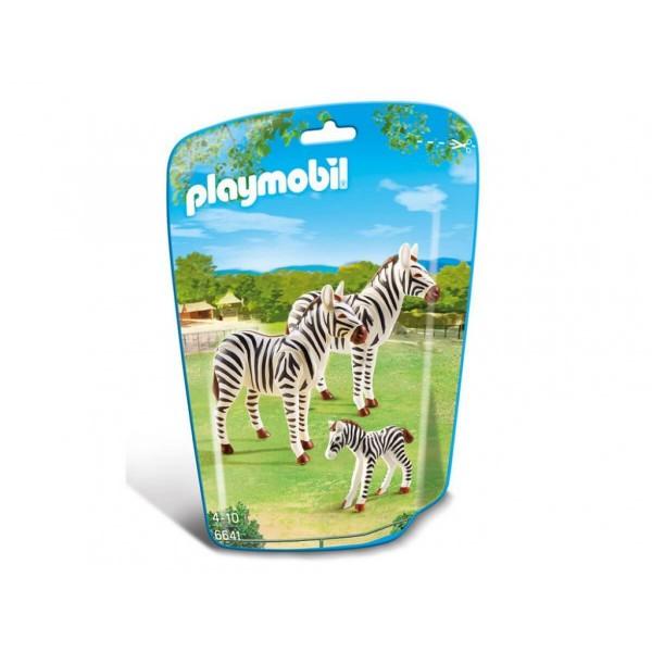 Плеймобил семейство зебри