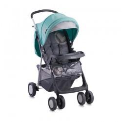 Бебешка количка Star Green&Grey с покривало