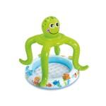 Бебешки надуваем басейн със сенник Октопод