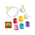 Сес комплект гривни и пръстени