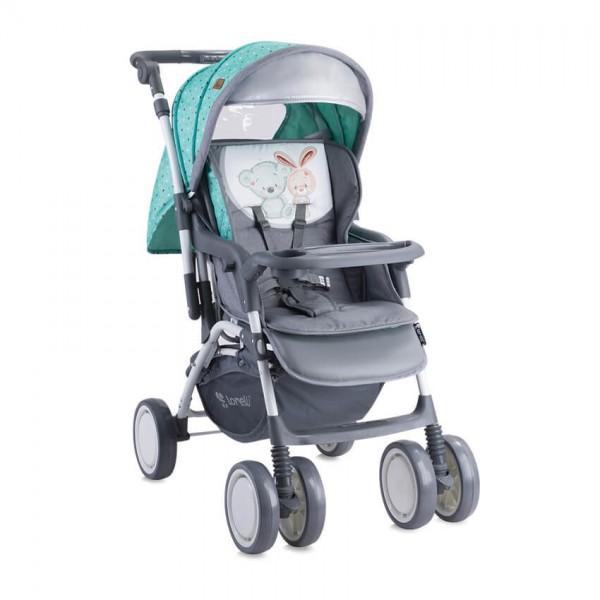 Детска количка Combi Green&Grey Friends