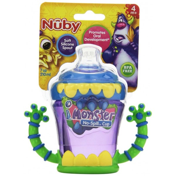 Nuby Неразливаща чаша Monster