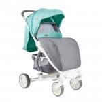 Детска количка S300 Green&Grey CIties