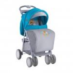 Детска количка Foxy сет Blue&Grey Hello Bear