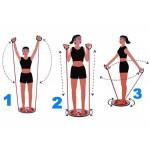 Ротационен туистър с кабели за упражнения