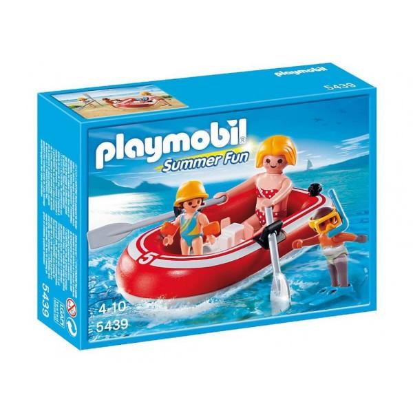 Плеймобил плувци с лодка