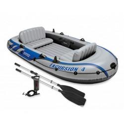 Интекс Лодка за екскурзии с аксесоари
