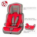 Столче за кола Bambino червено