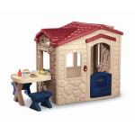 Little Tikes Къща за пикник сиво и червено