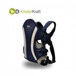 KinderKraft кенгуру за бебе синьо