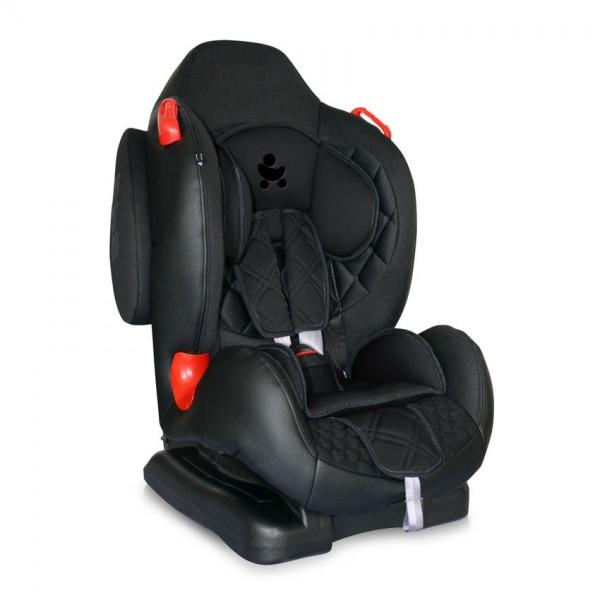 Стол за кола F2+SPS Black Leather