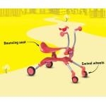Smart Trike Детска проходилка Springo червена