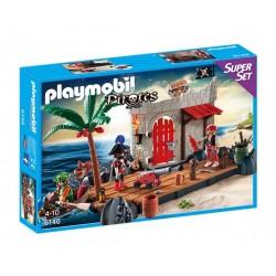 Плеймобил пиратска крепост