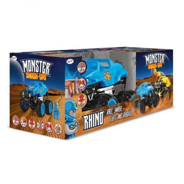 Monster Smash Ups Чудовищна кола Rhino