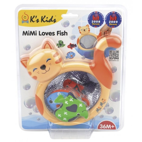 Играчка за баня Mimi loves Fish