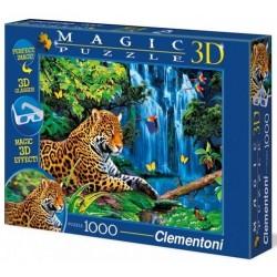 Clementoni 1000ч. Пъзел 3D Ягуар