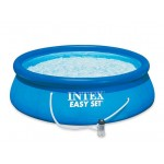 Семеен басейн с филтърна помпа