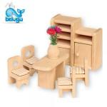 Beluga мебели за къща за кукли трапезария