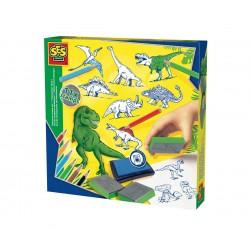 Сес Комплект печати Динозаври