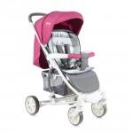 Детска количка S300 Rose&Grey Cities