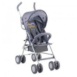 Детска количка Trek Grey Baby Owls