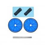 Двойно колело за упражнения + постелка
