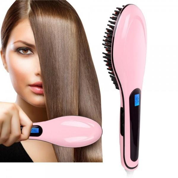 Ел. четка за изправяне на коса